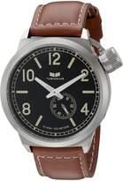 Vestal Men's CTN3L04 Canteen Dial Brown Leather Watch