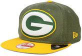 New Era Green Bay Packers Logo Grand 9FIFTY Snapback Cap