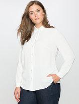ELOQUII Plus Size Essential Oxford Shirt