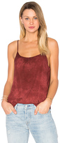 Lacausa Easy Slip Tank in Red. - size L (also in )