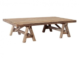 One World Baxter Trestle Coffee Table