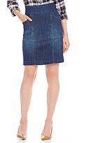 Jag Jeans Janelle Pull-On 4-Pocket Denim Pencil Skirt
