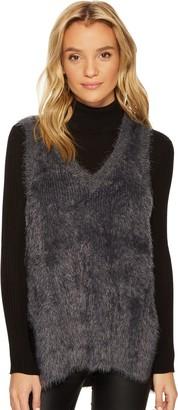 Jack by BB Dakota Women's Damon Soft Eyelash Sweater Vest