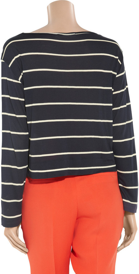Kain Label Trilby striped modal top