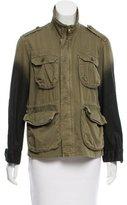 Current/Elliott Coated Military Jacket