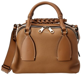Chloé Daria Medium Leather Shoulder Bag