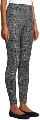 Lands' End Women's Starfish Abstract Plaid Leggings