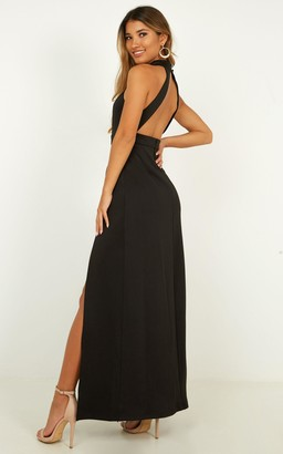 Showpo You Are Lovely Dress in black - 16 (XXL) Dresses