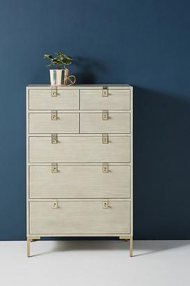 Anthropologie Ingram Seven-Drawer Dresser By in Grey