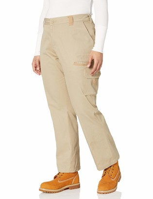 Dickies Women's Plus Size Relaxed Cargo Pant