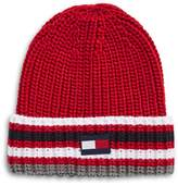 Tommy Hilfiger Three-Stripe Knit Beanie