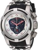 Invicta Men's 'Bolt' Quartz Stainless Steel and Silicone Casual Watch, Color:Two Tone (Model: 22160)