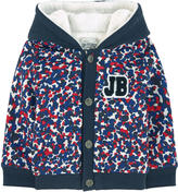 Jean Bourget Sweatshirt with a faux fur lining