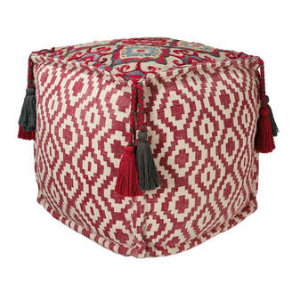 OKA Tantallon Floor Cushion - Red