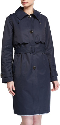 Kate Spade Single-Breasted Belted Trench Coat