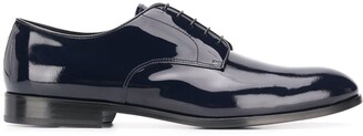Doucal's patent Derby shoes