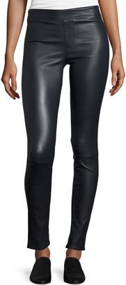 Helmut Lang Lamb Leather Leggings