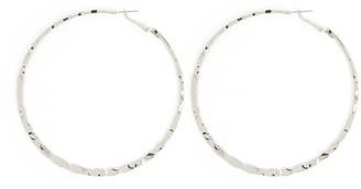 Forever 21 Hammered Hoop Earrings