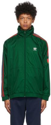 adidas Green 3D Trefoil Track Jacket