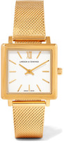 Larsson & Jennings Norse Gold-plated Watch - one size