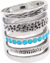 Pamela Love Single Cage Turquoise Ring