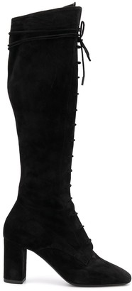 Saint Laurent Laura knee-high boots
