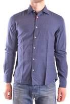 Altea Men's Blue Cotton Shirt.