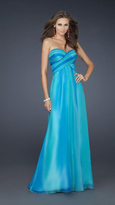 La Femme 17167 Vibrant Dual-Toned Sweetheart A-Line Chiffon Gown