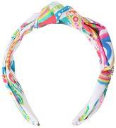 Roberto Cavalli Printed Cotton Poplin Headband