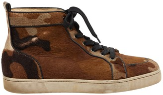 Christian Louboutin Brown Other Trainers