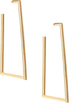 Uncommon James by Kristin Cavallari Heat Tubular Hoop Earrings