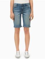 Calvin Klein Faded Denim City Shorts