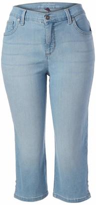 Gloria Vanderbilt Women's Petite Amanda Capri Jeans