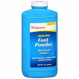 Walgreens Medicated Foot Powder