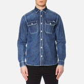 Carhartt Long Sleeve Union Denim Shirt Blue True Stone