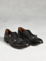 John Varvatos Fleetwood Laced Double Monk