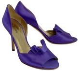 Kate Spade Purple Satin Heels