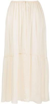Forte Forte Gathered Mid-Length Skirt