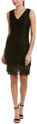 J.o.a. Women's Lace Trim Midi Dress