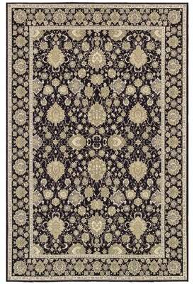 "Jamison Astoria Grand Black/Beige Area Rug Astoria Grand Rug Size: Rectangle 2'3"" x 3'11"""