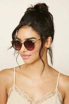 Forever 21 Gradient Round Sunglasses