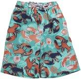 E-Land Kids Lobster Shorts (Toddler/Kids) - Pistachio-3T