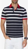 Nautica Short Sleeve Gradient Stripe Polo