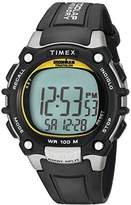 Timex Men's TW5M03400 Ironman Classic 100 Full-Size Resin Strap Watch