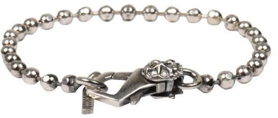 Emanuele Bicocchi Ball Chain Silver Bracelet