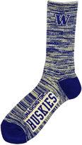 For Bare Feet Washington Huskies RMC 504 Crew Socks