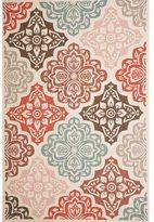 Christopher Knight Home Roxanne Fairen Indoor/Outdoor Multi Floral Rug (8' x 10')