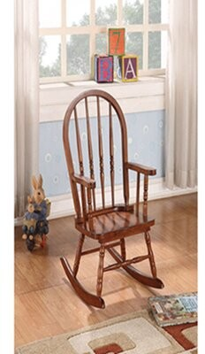 Rocking Chair lintoyo Color: Brown