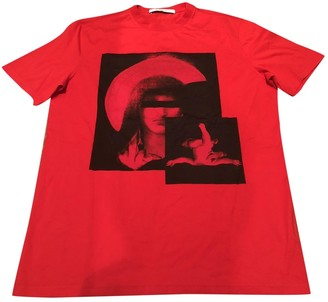 Givenchy Red Cotton Top for Women