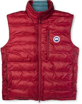 Canada Goose Lodge Packable Quilted Shell Down Gilet
